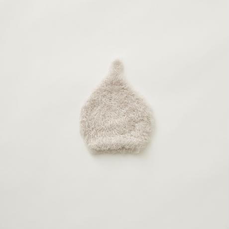 """【 eLfinFolk 21AW 】 pygmy cap (elf-555A01) """"帽子""""  / smoke white / S,M"""
