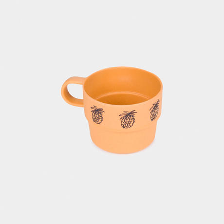 【 Bobo Choses 2020SS 】12070005 Pineapple Bamboo Cup / Orange