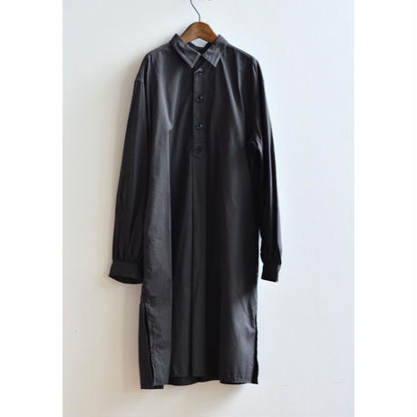 """【 GRIS 21AW 】 Long Pullover Shirt """"ロングシャツ"""" / Log Wood / size L(135-150)"""