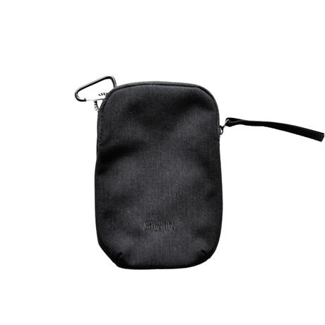 """【 MOUN TEN. 21SS 】mini porch [21S-MA32-0911] """"ポシェット"""" / black"""