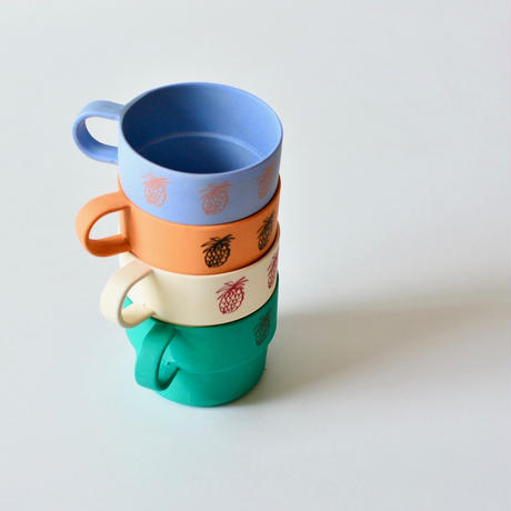 【 Bobo Choses 2020SS 】12070005 Pineapple Bamboo Cup / Green