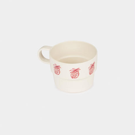 【 Bobo Choses 2020SS 】12070005 Pineapple Bamboo Cup / Cream