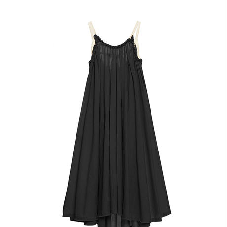 【 Little Creative Factory 18SS 】Ballet Sun Dress / BLACK