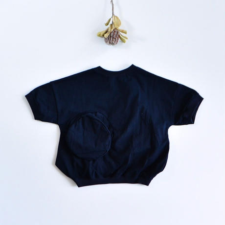 【 UNIONINI 2019SS 】CS-039 ◯△ T-shirt / Navy  / 1 - 10歳