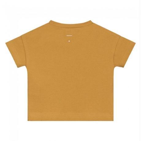"【 GRAY LABEL 2020SS】Baby S/S Henley Tee  "" Tシャツ "" / 70-80cm / Mustard"