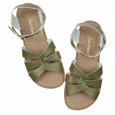 """【 Saltwater Sandals 21SS】 海でも履けるソルトウォーターサンダル  """" Original """"  / オリーブ / 20 - 22cm"""