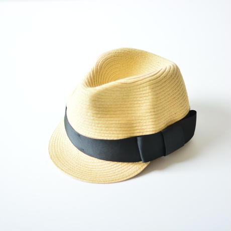 "【 Chocolatesoup 20SS 】PAPER BRAID JOCKY HAT "" ジョッキーハット "" / BLACK"