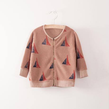 【 bobo Choses 2017AW】217196 Baby zip sweatshirt  Alma S.B. AO
