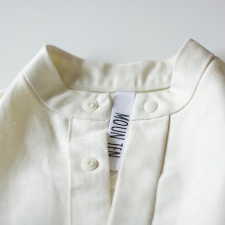 "【 MOUN TEN. 21SS 】C/L moleskin shirts [21S-MS19-0920c] ""ノーカラーシャツ"" / ecru / 1(Ladies F  )"