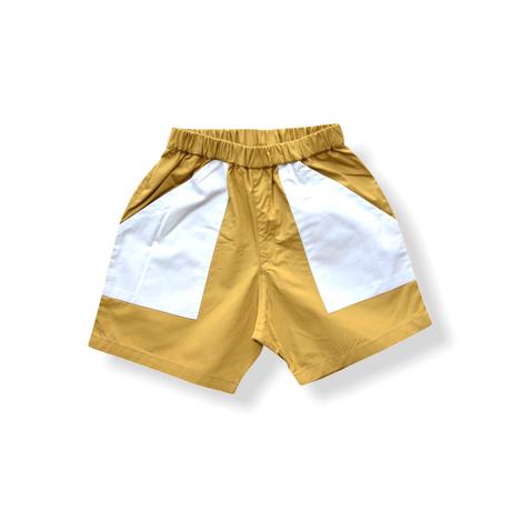 """【 eLfinFolk 21SS 】typwriter shorts (elf-211F29)""""ショートパンツ"""" / ピーカブーヤ限定カラー / 90-130"""