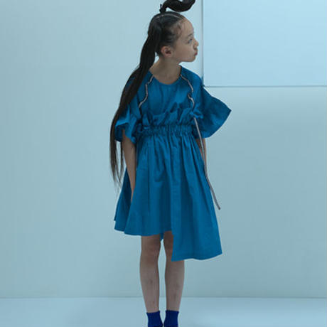"【 UNIONINI 2020SS 】SK-002 asymmetry skirt "" スカート "" / beige / 4-10Y"