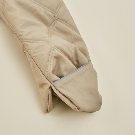 """【 MOUN TEN. 21AW 】quilt mitten coat """"コート"""" / ベージュ / 1(Ladies F  )"""