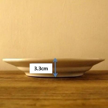 プレート(L)/チョコレートフラワー 27cm