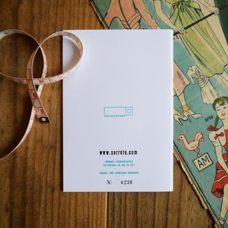活版印刷のノート /  仕立て屋