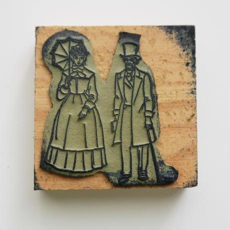 ポルトガルのヴィンテージスタンプ/19世紀のカップル