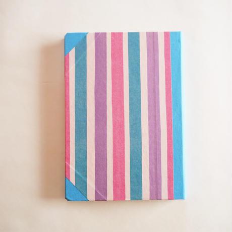 エミリオ・ブラガの手作りノート/ストライプ・大