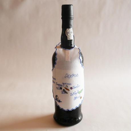 サン・ジョルジェ島の刺繍のボトルエプロン/アソーレスの島々