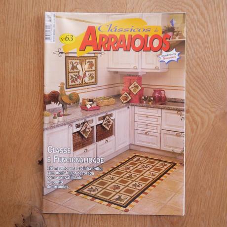 アライオロス刺繍図案 Clássicos de Arraiolos No.63