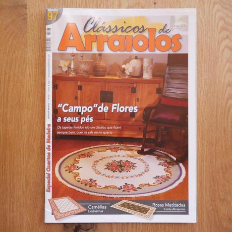 アライオロス刺繍図案 Clássicos de Arraiolos No.97