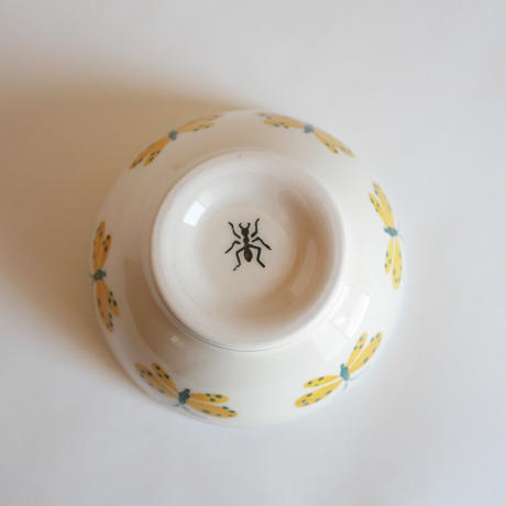 ボウル・大「ちょうちょ」Ф13.5cm  /ヴィンテージスタイル