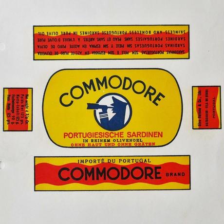 シルヴァ・セラノ&Ca 社の缶詰の包み紙