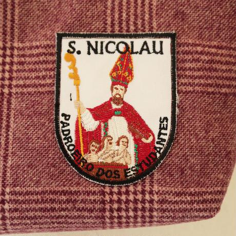 聖人ワッペンのミニトート/聖ニコラウ(聖ニコラウス)