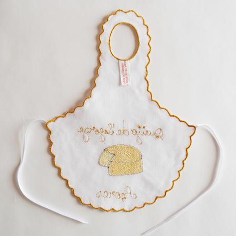 サン・ジョルジェ島の刺繍のボトルエプロン/チーズ