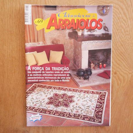 アライオロス刺繍図案 Clássicos de Arraiolos No.69