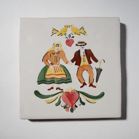 鍋敷き/ミーニョ地方のカップル