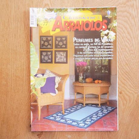 アライオロス刺繍図案 Clássicos de Arraiolos No.77