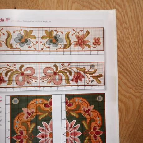 アライオロス刺繍図案 Clássicos de Arraiolos No.111