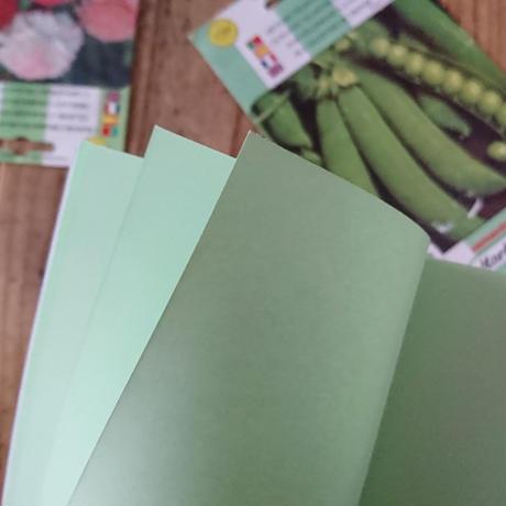 活版印刷のノート / 菜園