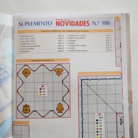 クロスステッチ Ponto Cruz & NOVIDADES /  No.186