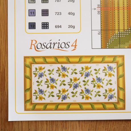 アライオロス刺繍図案 Clássicos de Arraiolos No.71