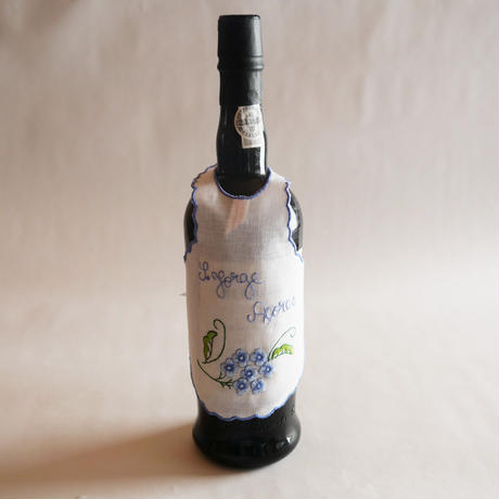 サン・ジョルジェ島の刺繍のボトルエプロン/アジサイ
