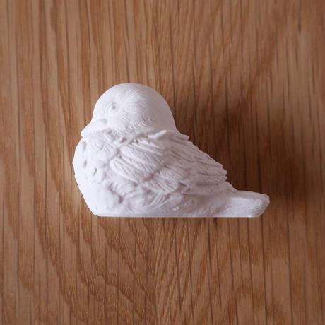 漆喰のオーナメント/小鳥(左向き)