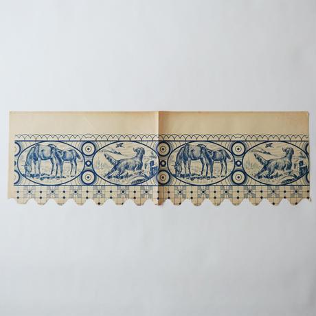ヴィンテージの棚紙 / 田園風景
