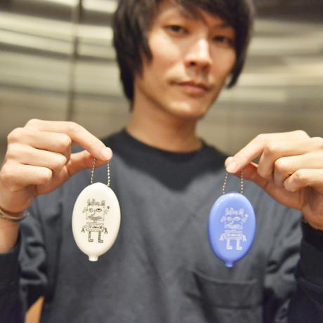SHIMIZU RUBBER COINCASE(ブルー)