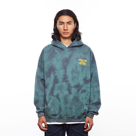 TIE DYE PULLOVER HOODIE 21AW
