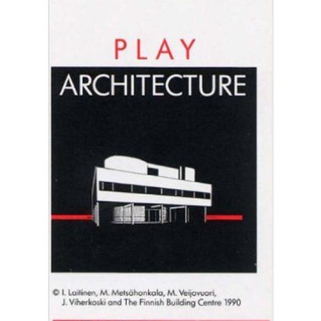 フィンランド 建築トランプ Play Architecture 送料無料