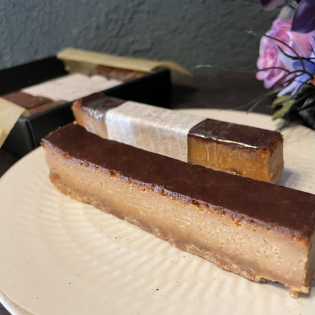 キャラメル屋さんの【紅茶香るキャラメルチーズケーキ】🧀お客様の声から生まれた一品✨