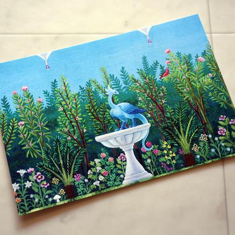 ポストカード「花咲ける庭」