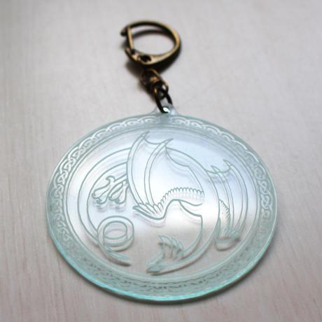 キーホルダー・円型