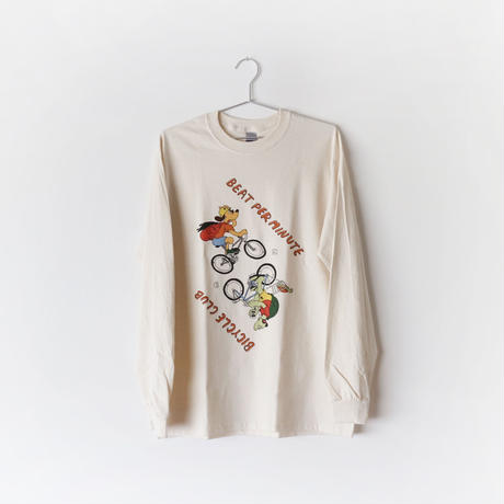 BEAT PER MINUTE BICYCLE CLUB ロンT [NATURAL]