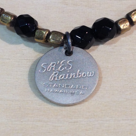 SR'ES Rainbow STANDARD(エスアールエスレインボースタンダード) / BRASS WITH STONE BRACELET(天然石ブレスレット) / No.ACS00903