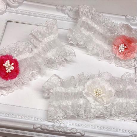 桜🌸セレブリボンストレッチチョーカー/20cm  ×10本