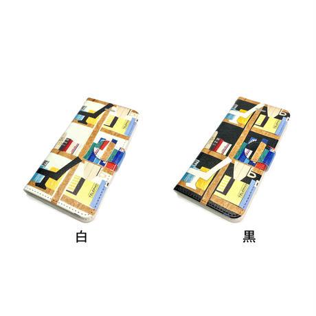 iPhone手帳型ケース【本】【全2色】iPhone12/12Pro/12Pro Max/11/11 Promax/XR/XSMax/8 plus/ 7 plus/6 plus/6S plus