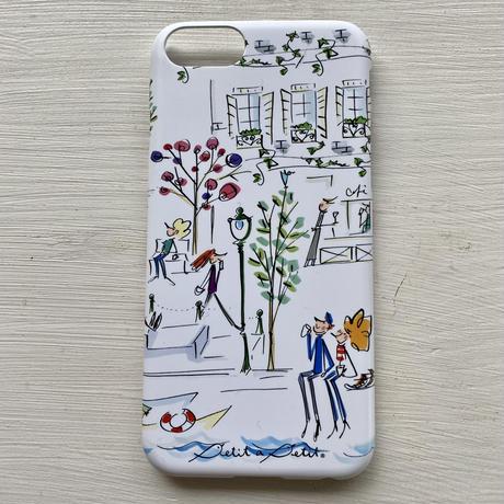 iPhoneプラスチックケース【セーヌ】iPhone12 Pro Max/11Pro Max/XS MAX/iPhonePlus (6/6s/7/8)