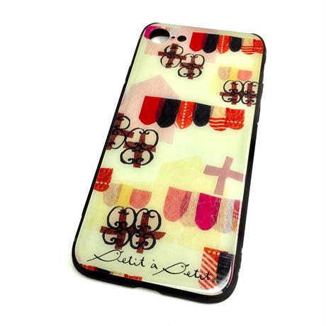 iPhone背面ガラスケース【チロル】iPhone12mini/ SE2(第二世代)/11 Pro/ XS/X/7/8