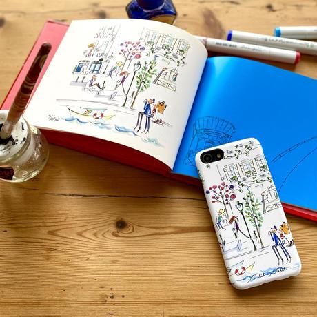 iPhoneプラスチックケース【セーヌ】iPhone12/12Pro/12 mini/11/11 Pro/XR/X/XS/7/8/ SE2(第二世代)/6/6s /5/5s/SE(初代)